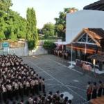 upacara peringatan Pramuka